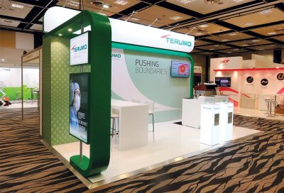 Terumo Exhibition Stand at APSCVIR